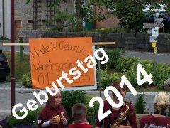 Geburtstag 2014