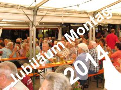Jubiläum Montag 2014