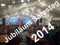 Jubiläum Samstag 2014
