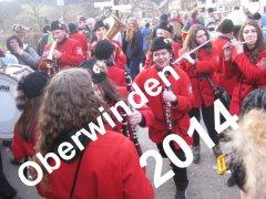 Narrentreffen in Oberwinden 2014